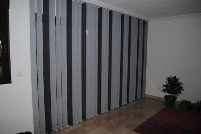 cortinas verticales coordinadas