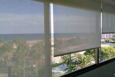 screen terraza vista al mar