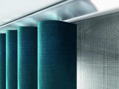 Riel elegante para cortina onda perfecta