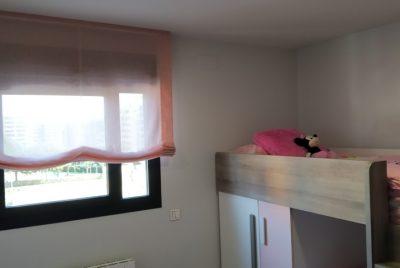 Paqueto rosa habitación niña